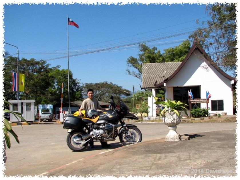 Thai/Myanmar border at Kanchanaburi, Thailand